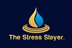 The Stress Slayer_Logo_Blue_Small